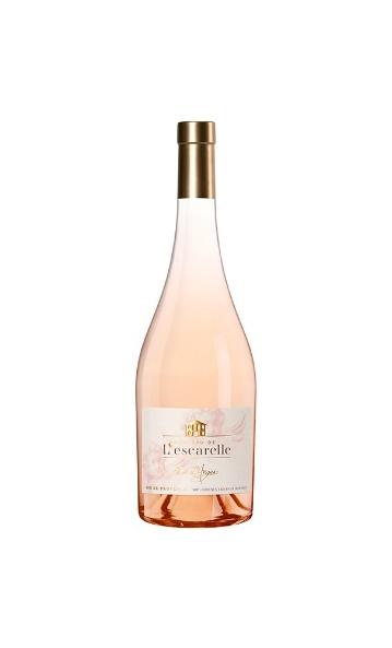 Le rosé de Provence 1718 du château de l'Escarelle