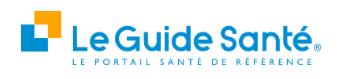 Le Guide Santé trouve une consultation chez un stomatologue pour vous